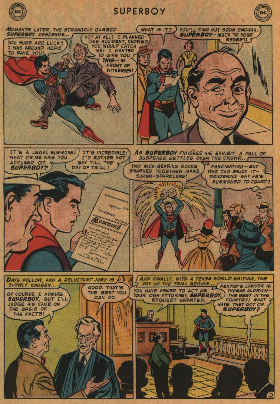 Superboy (1949) issue 63 - Page 3