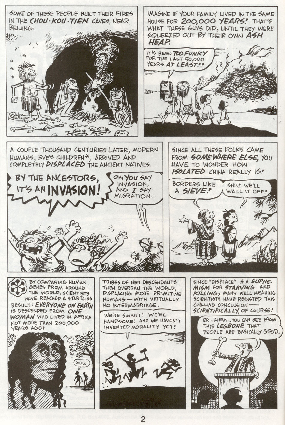 Read online The Cartoon History of the Universe comic -  Issue #9 - 5