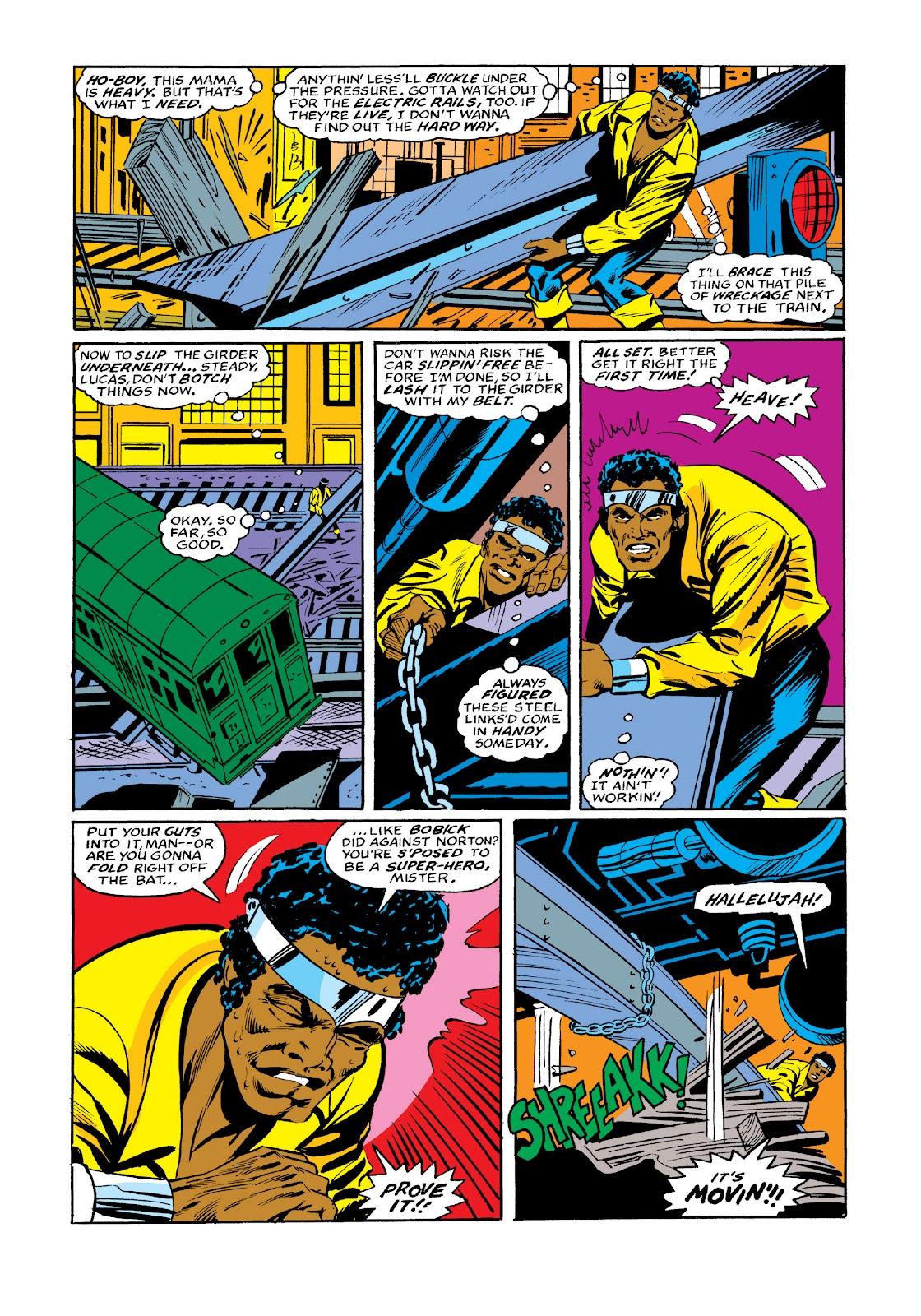 Read online Marvel Masterworks: Luke Cage, Power Man comic -  Issue # TPB 3 (Part 3) - 104