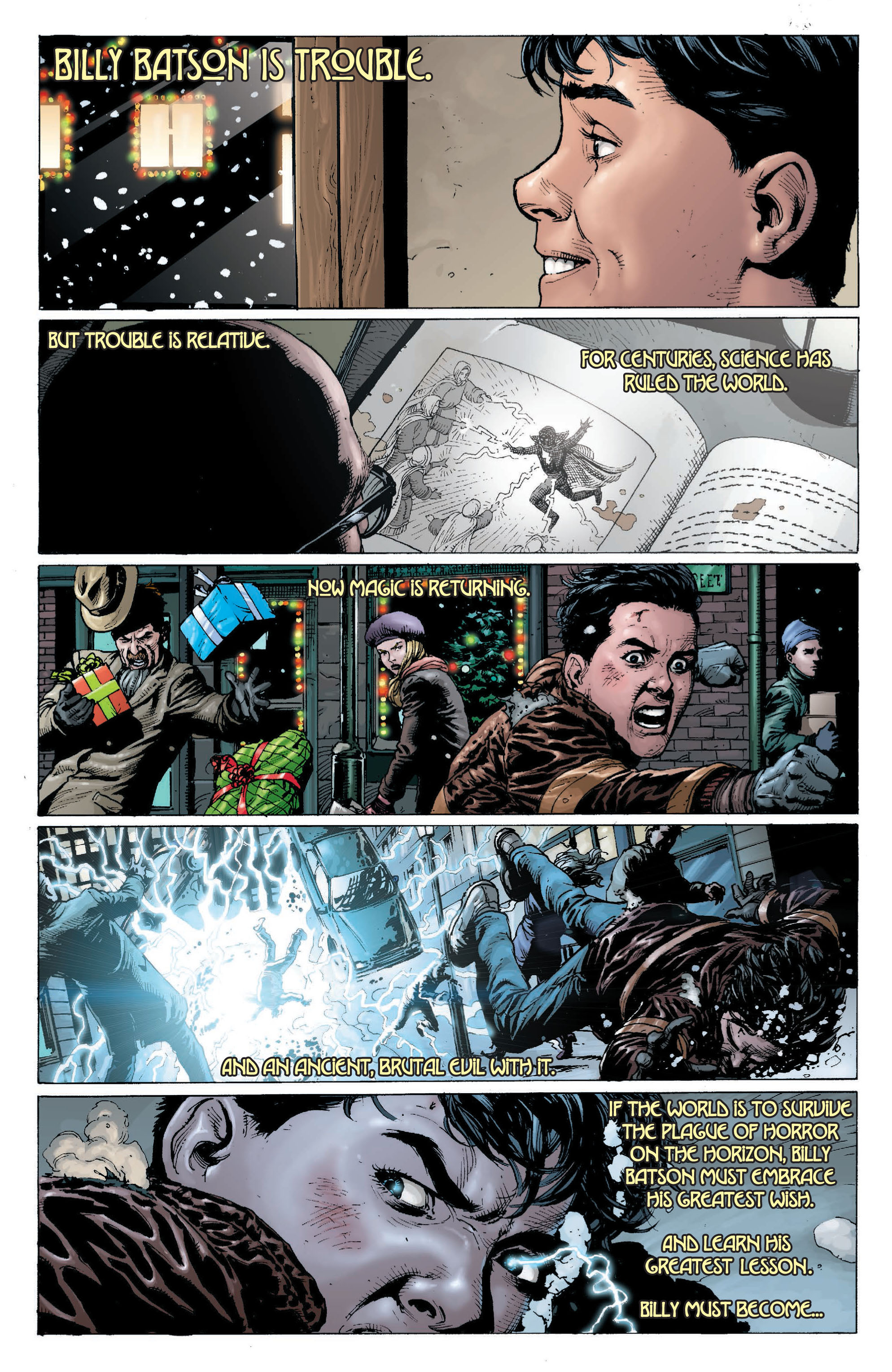 Read online Shazam! (2013) comic -  Issue #1 - 8