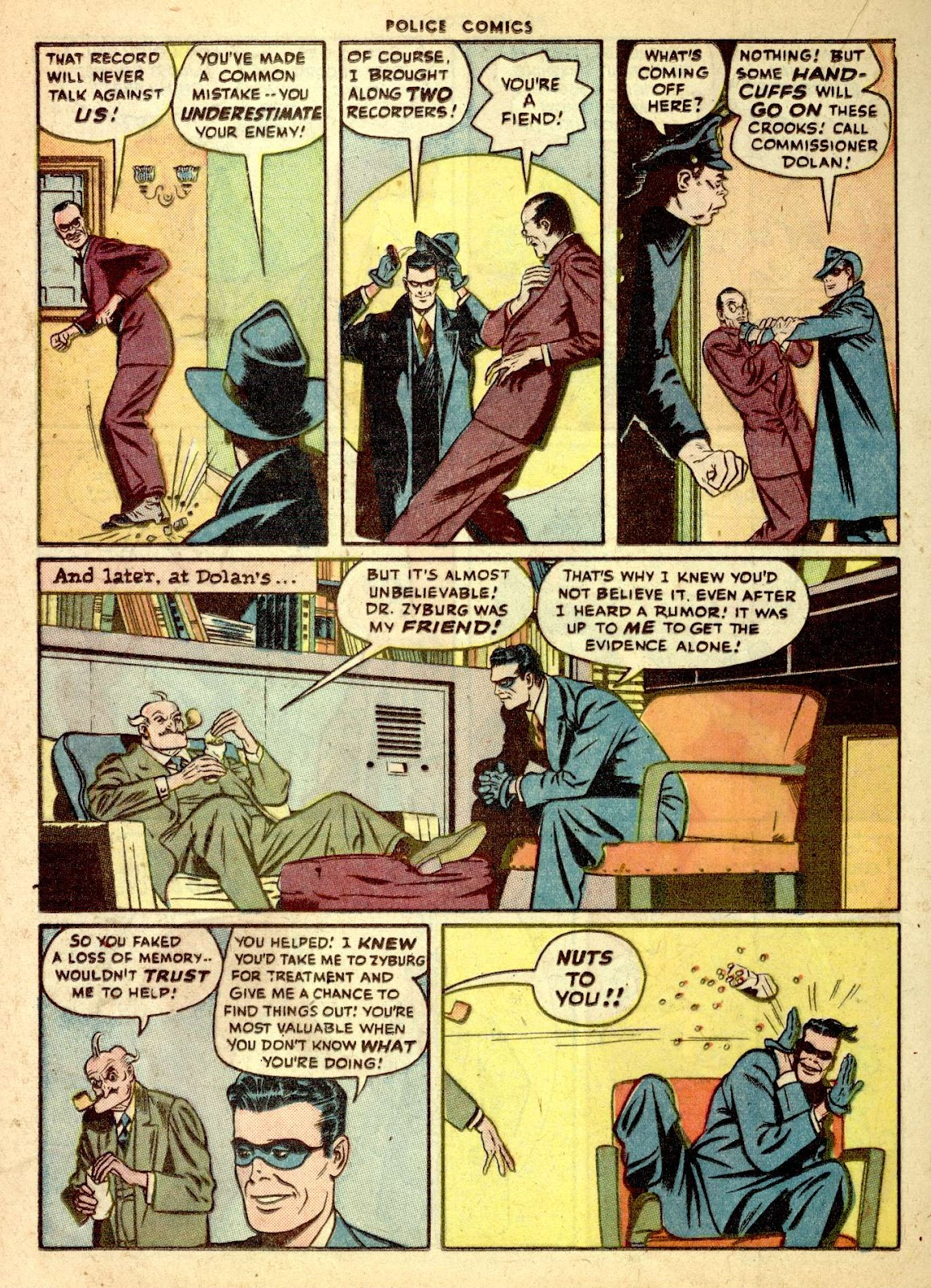 Police Comics issue 76 - Page 32