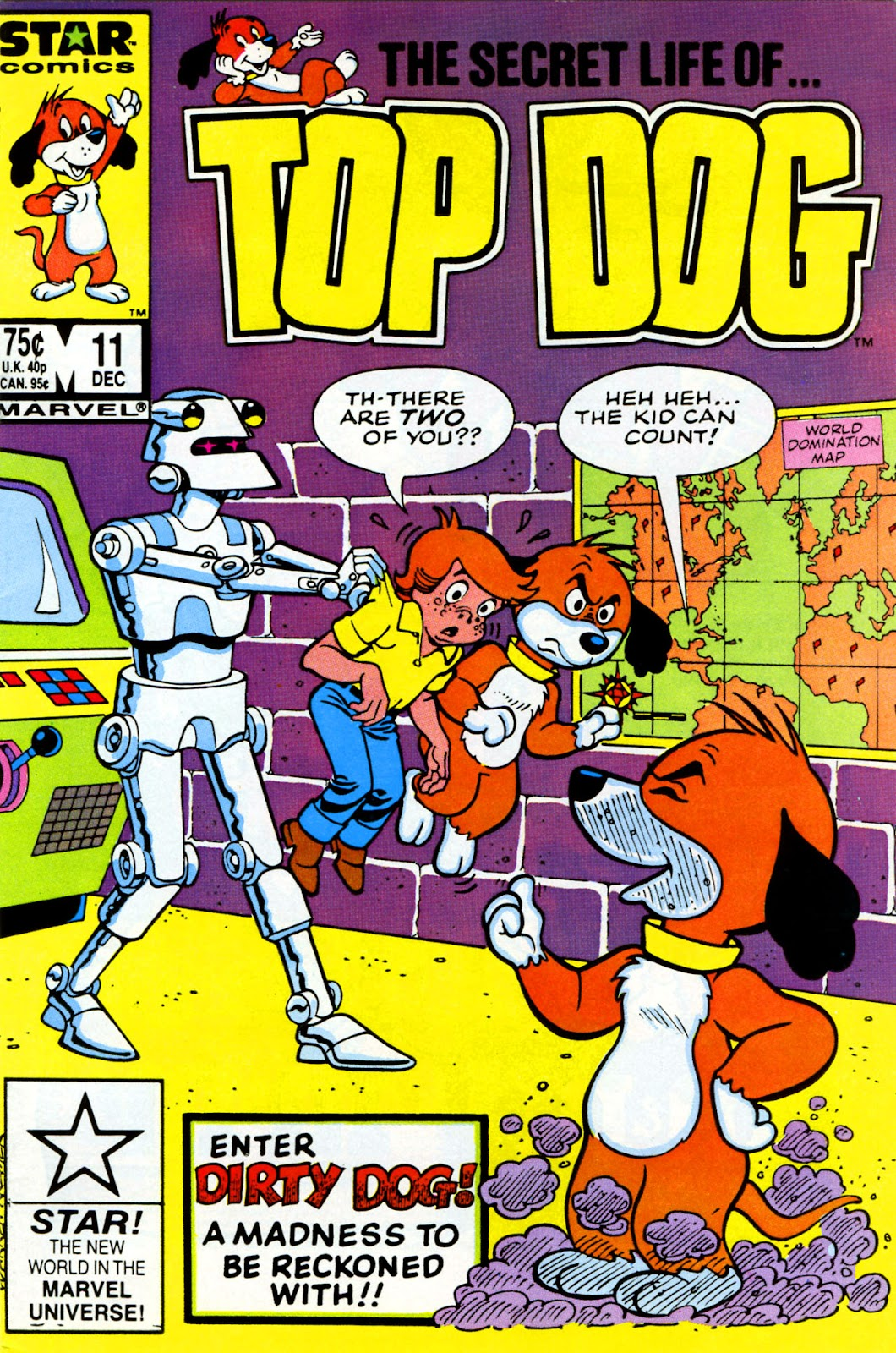 Top Dog 11 Page 1