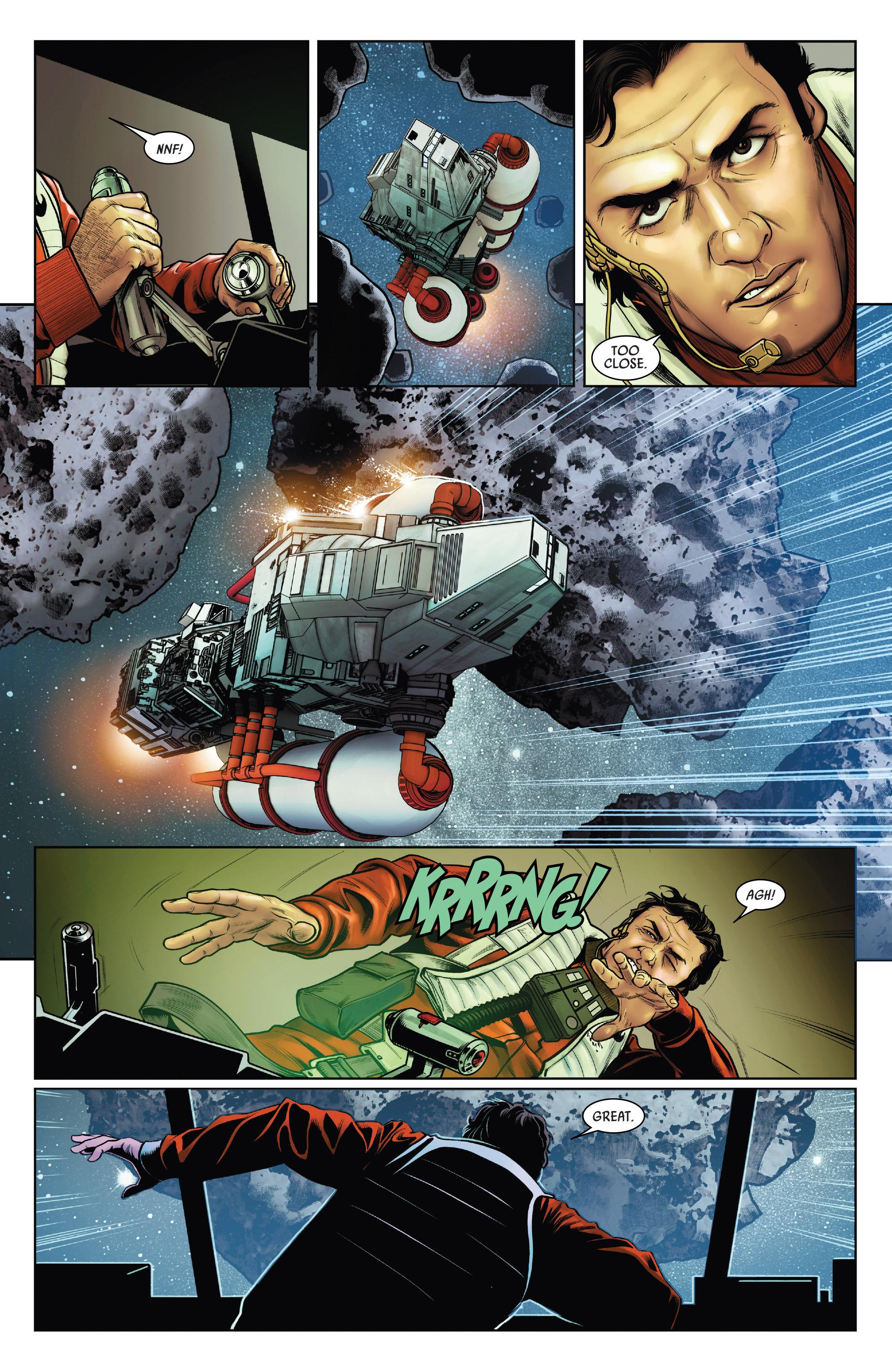 Read online Star Wars: Poe Dameron comic -  Issue #15 - 19