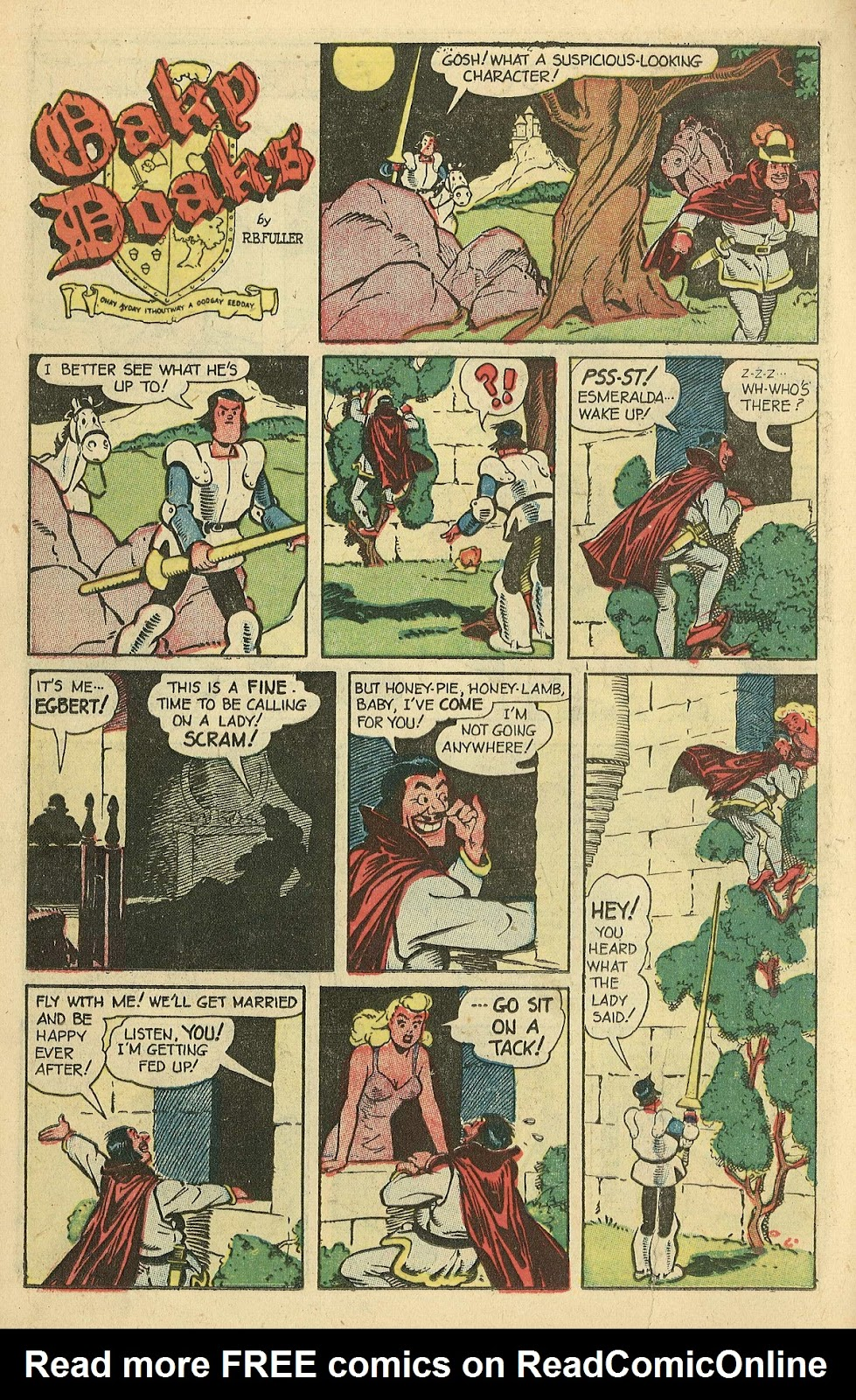 Read online Famous Funnies comic -  Issue #198 - 14