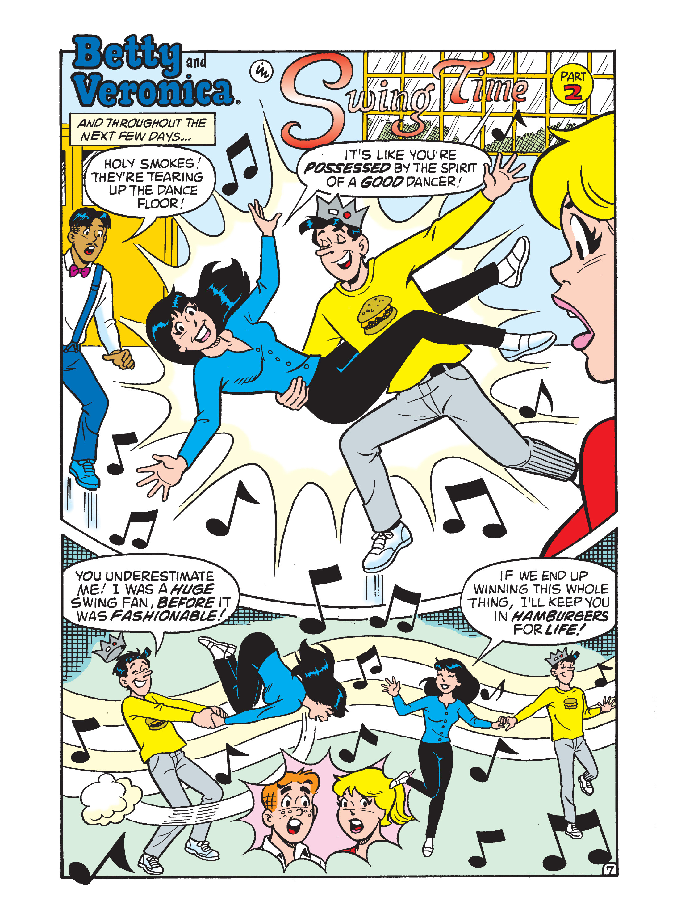 Read online Archie 75th Anniversary Digest comic -  Issue #5 - 211