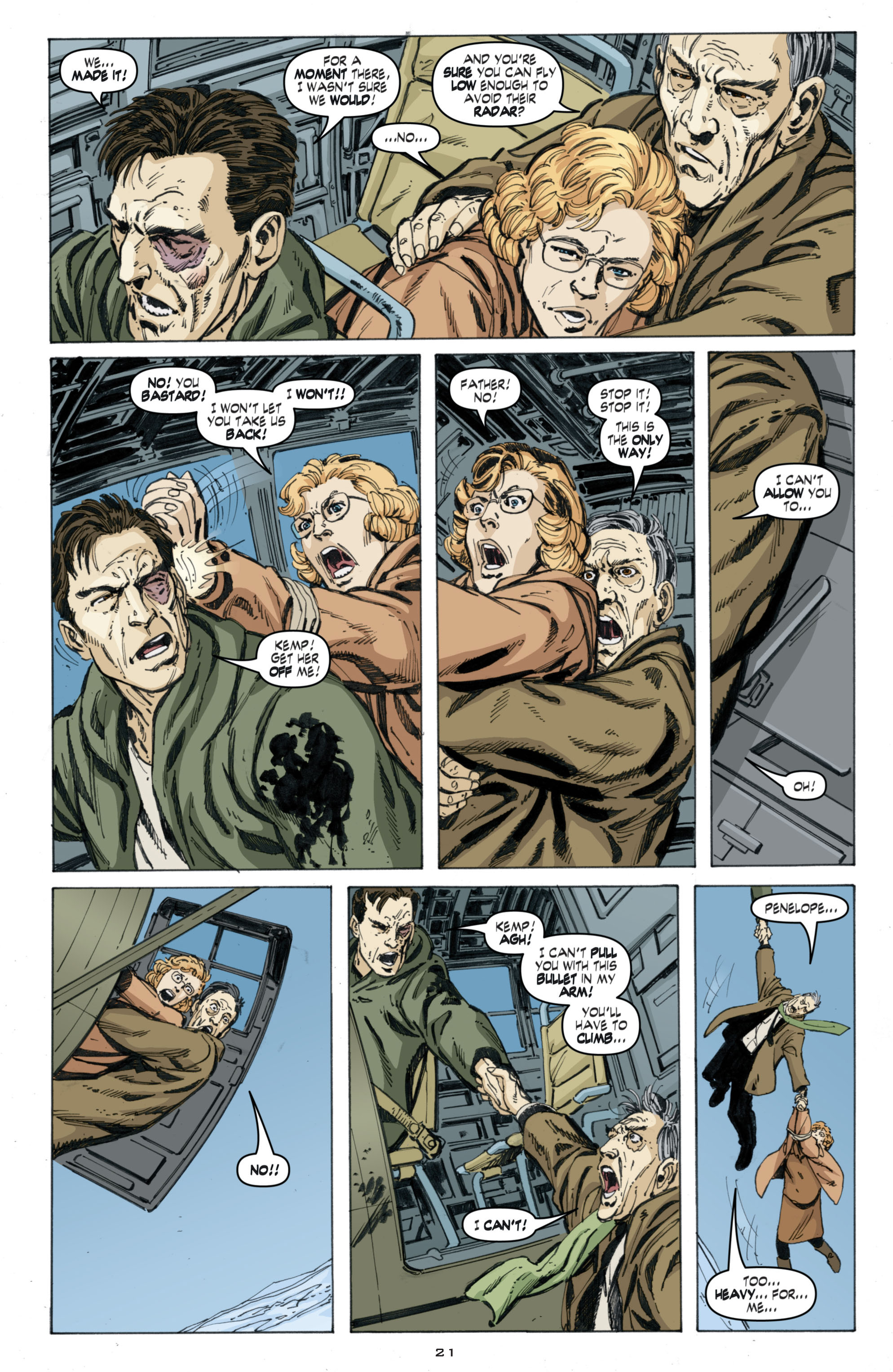 Read online Cold War comic -  Issue # TPB - 105