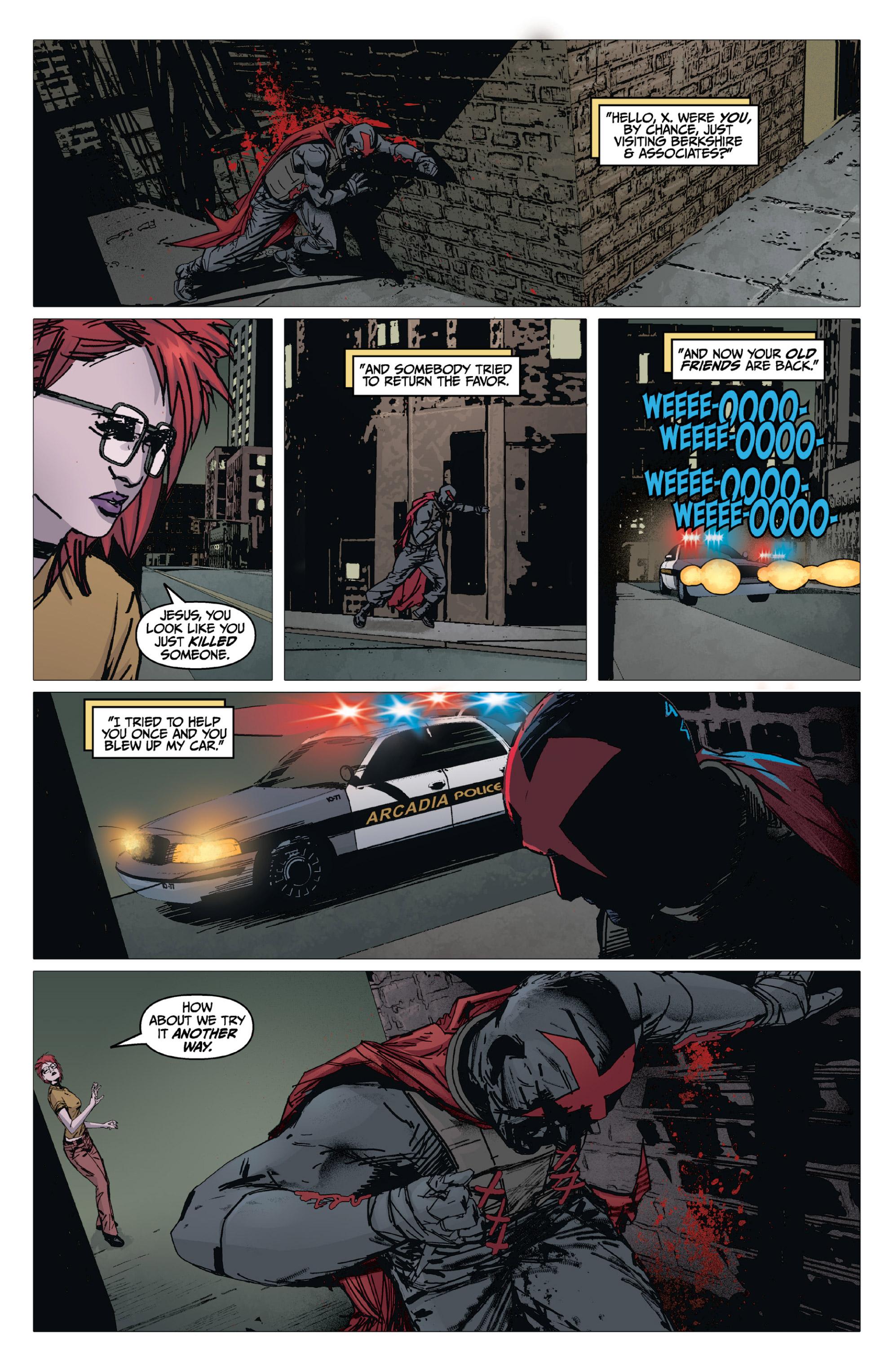 Read online X: Big Bad comic -  Issue # Full - 72