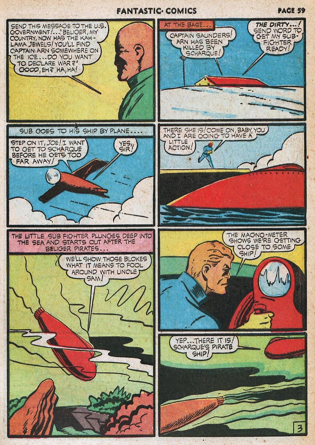 Read online Fantastic Comics comic -  Issue #20 - 59