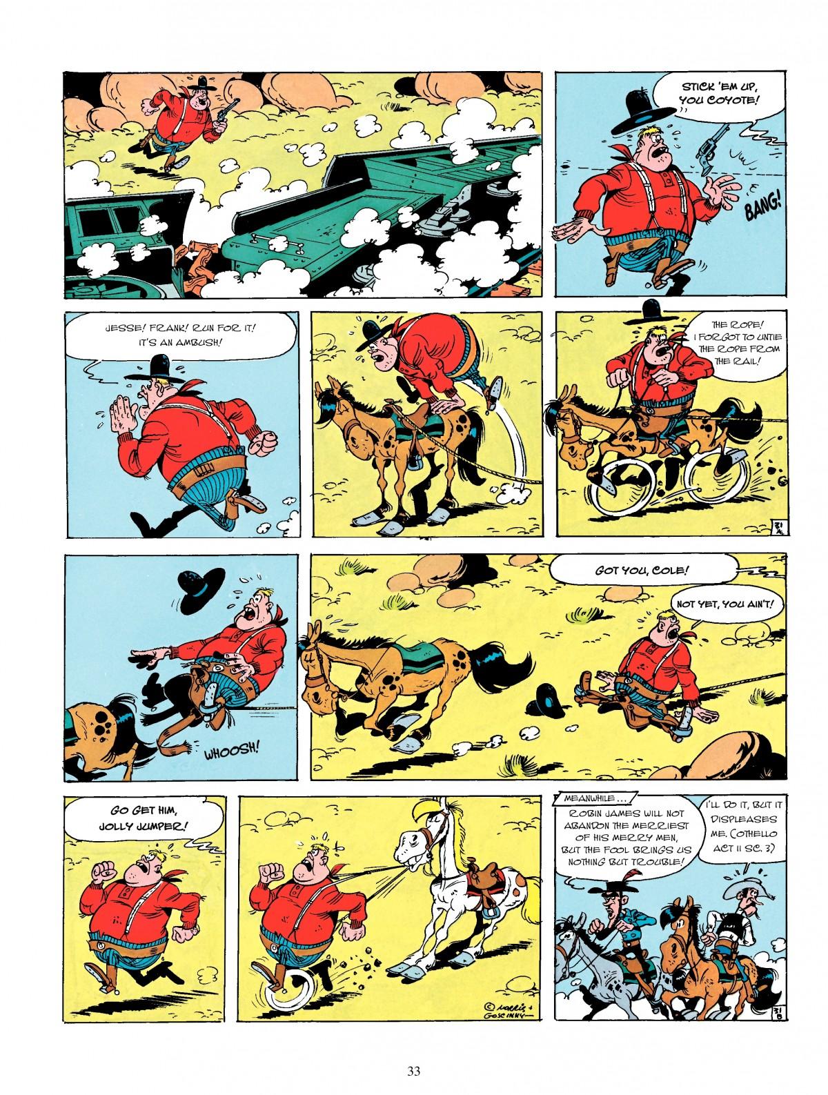 Read online A Lucky Luke Adventure comic -  Issue #4 - 35
