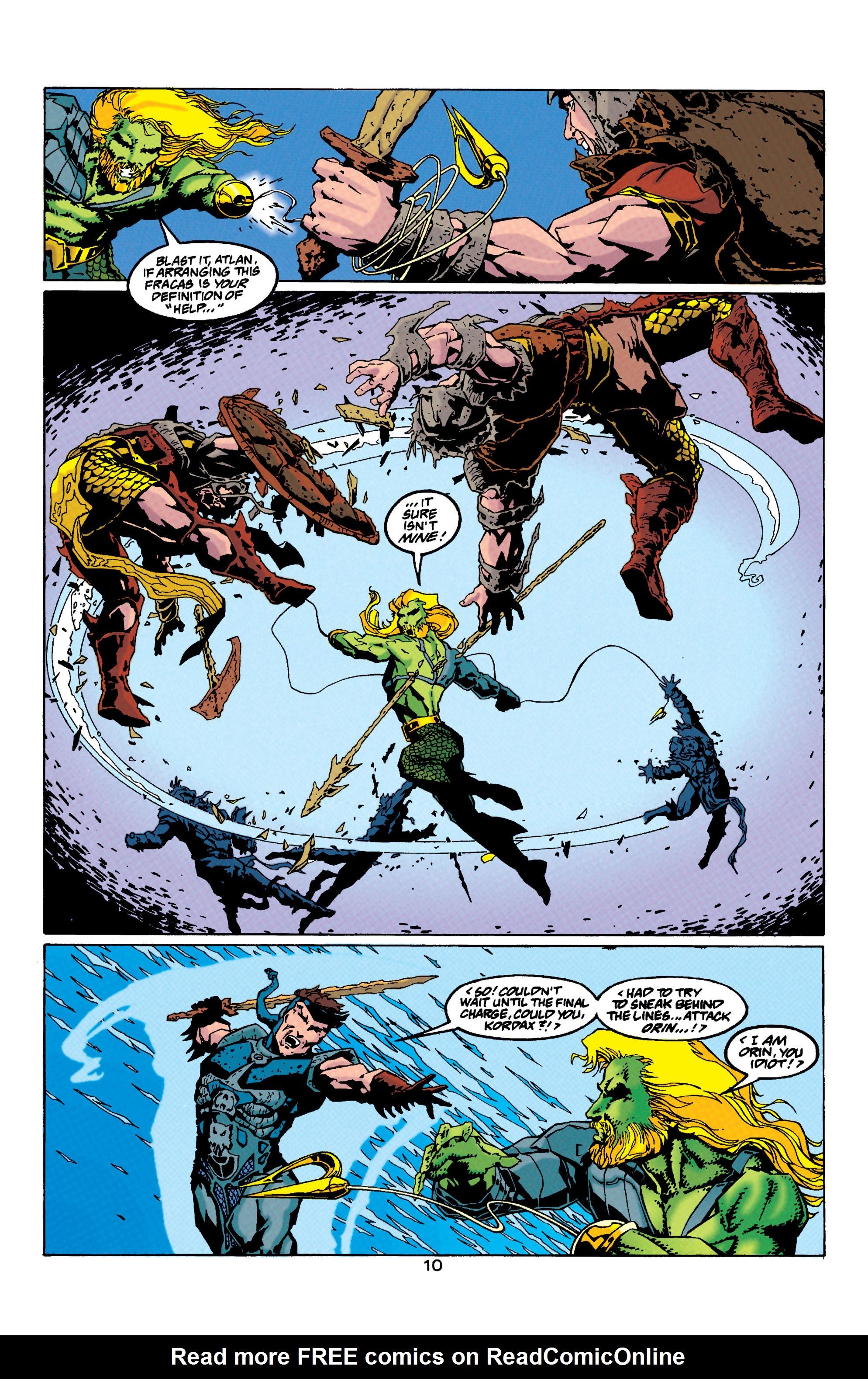 Read online Aquaman (1994) comic -  Issue #33 - 10