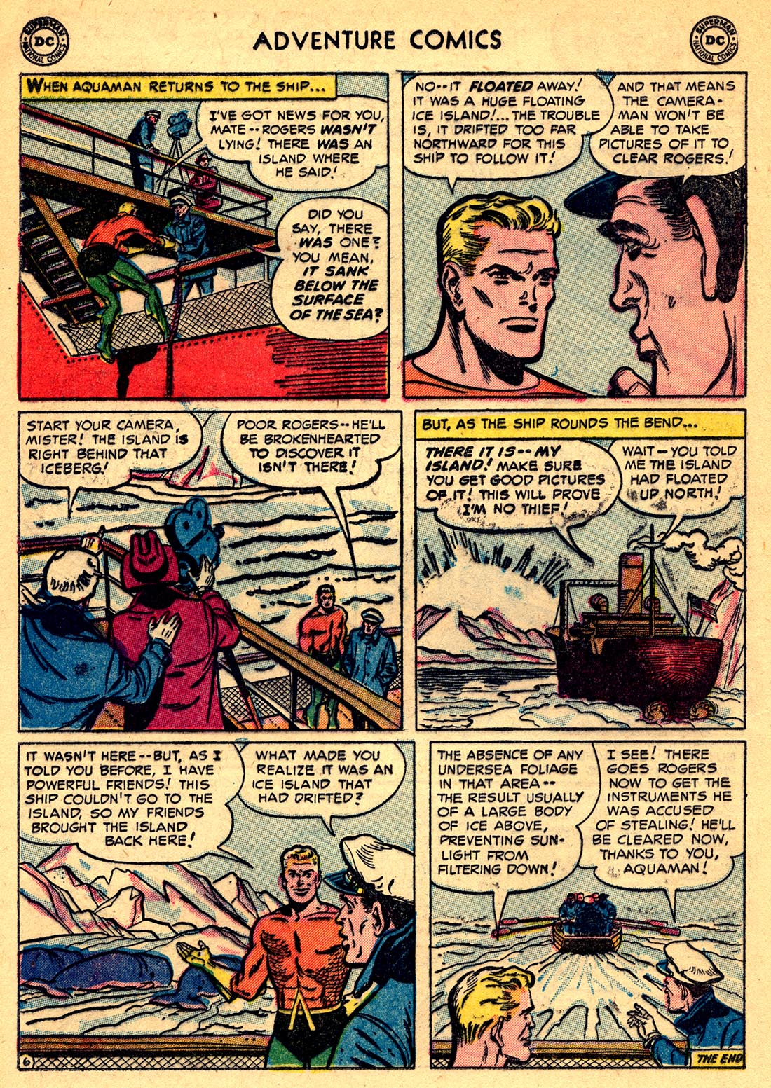 Read online Adventure Comics (1938) comic -  Issue #209 - 20