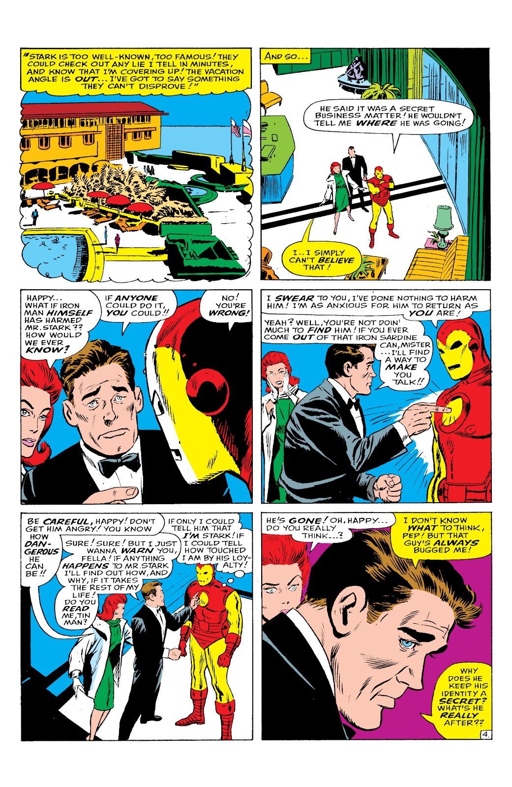 Read online Marvel Masterworks: The Invincible Iron Man comic -  Issue # TPB 2 (Part 2) - 60