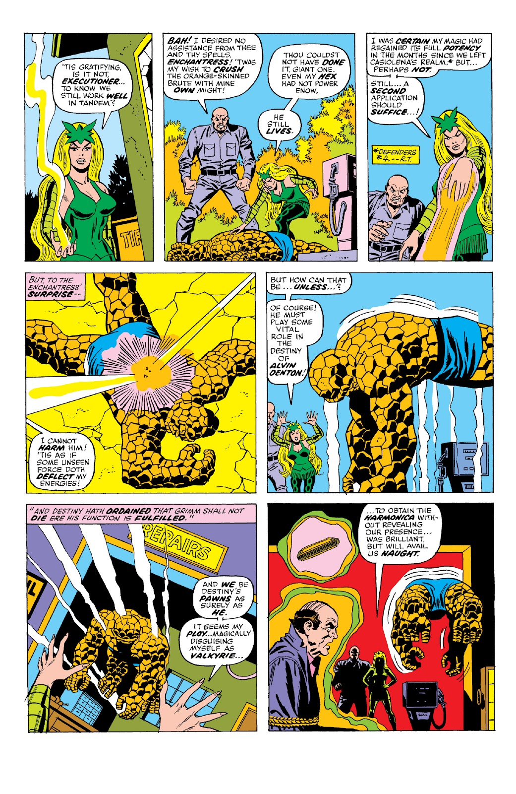 Read online Marvel Two-In-One Epic Collection: Cry Monster comic -  Issue # TPB (Part 2) - 68