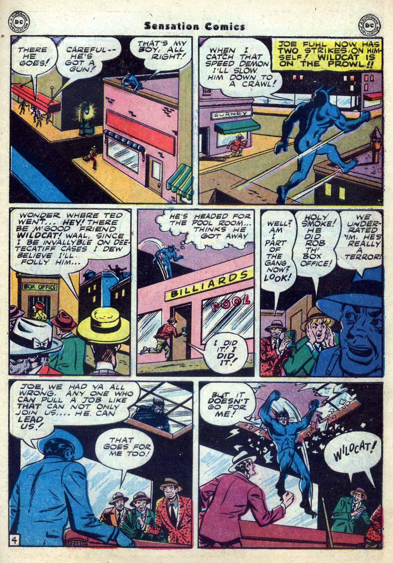 Read online Sensation (Mystery) Comics comic -  Issue #59 - 45