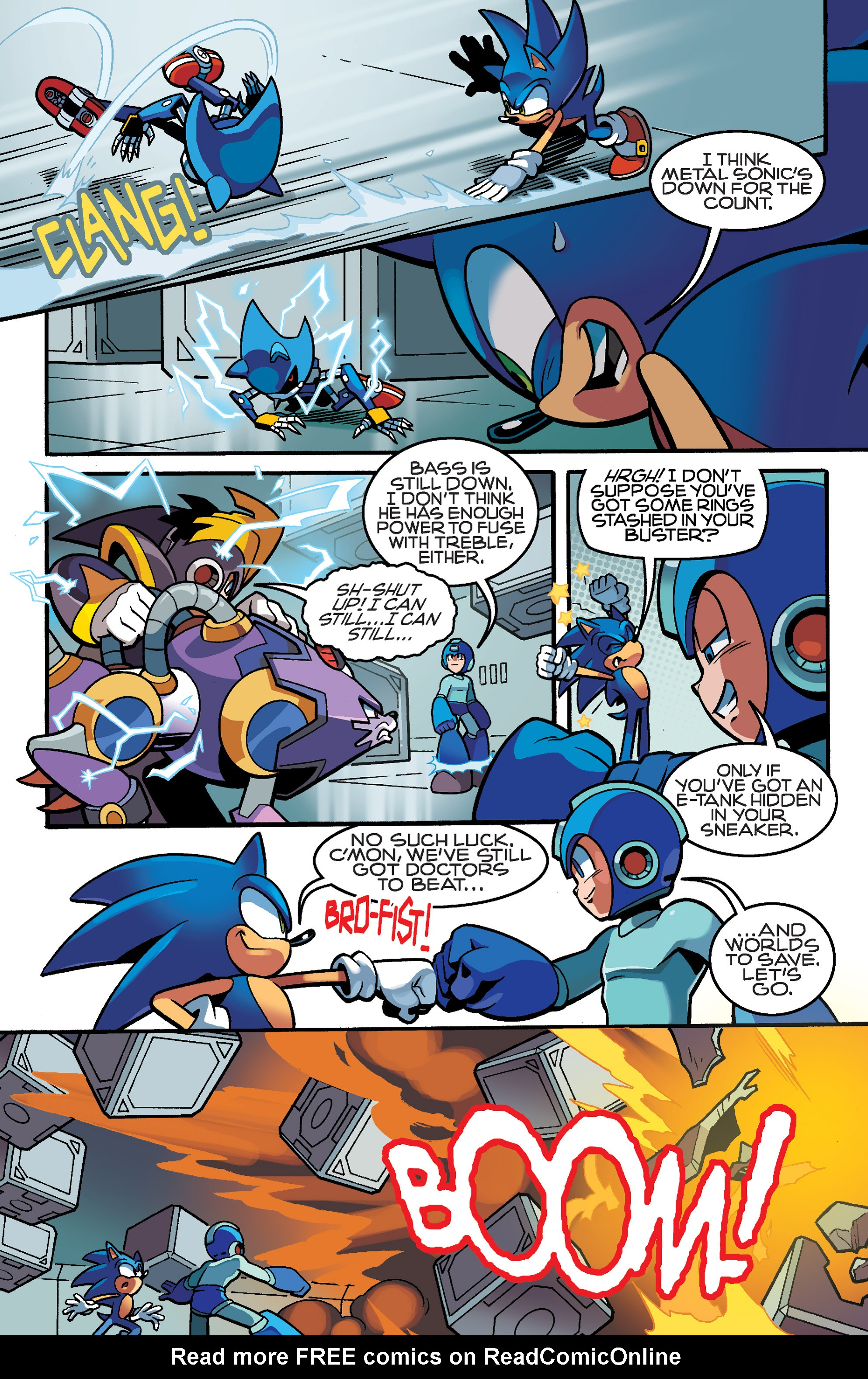 Read online Sonic Mega Man Worlds Collide comic -  Issue # Vol 3 - 87