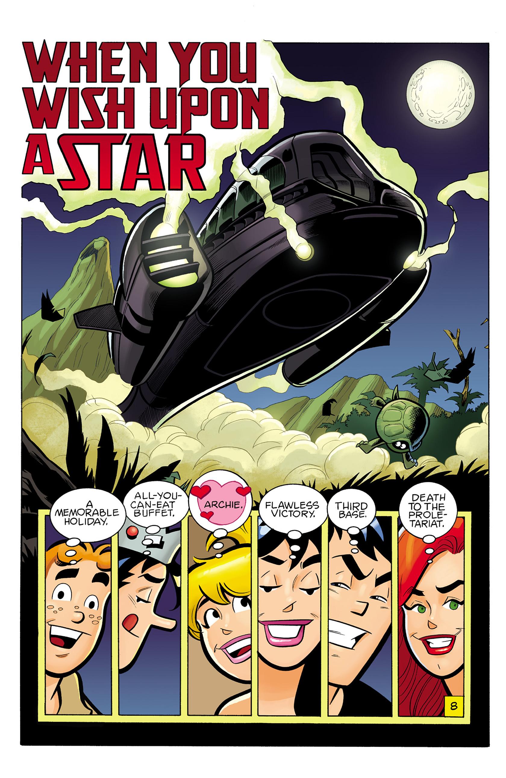 Read online Archie vs. Predator comic -  Issue #1 - 9