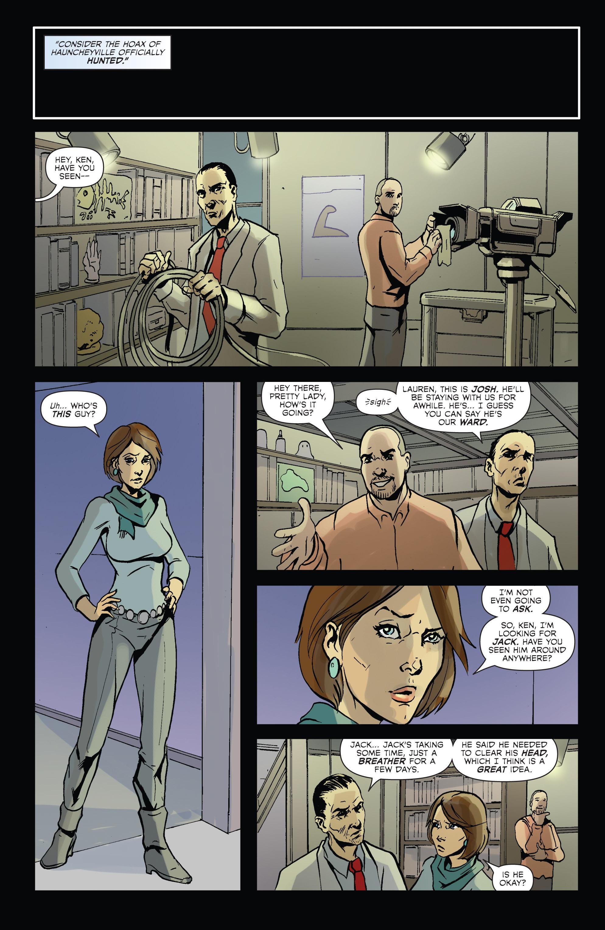 Read online Hoax Hunters (2012) comic -  Issue # TPB 2 - 69