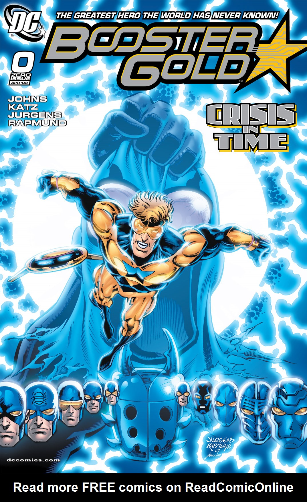 Booster Gold 2007 Issue 0
