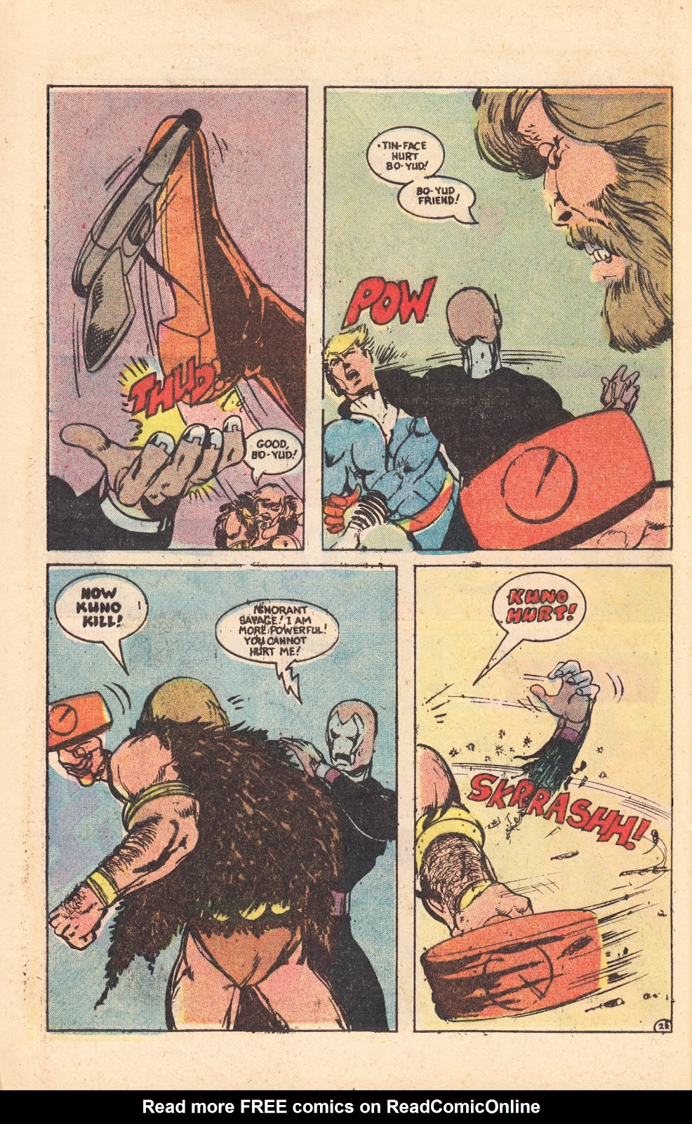 Read online Doomsday   1 (1975) comic -  Issue #8 - 27