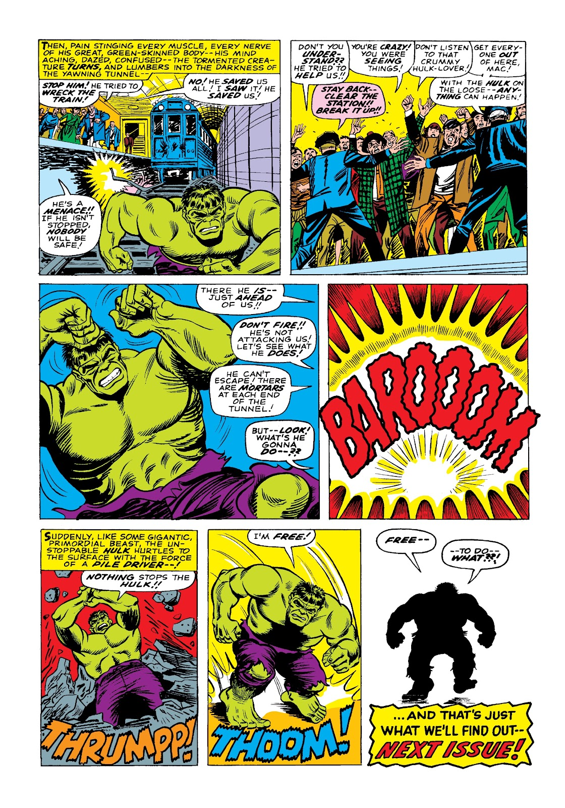Read online Marvel Masterworks: The Incredible Hulk comic -  Issue # TPB 3 (Part 1) - 61