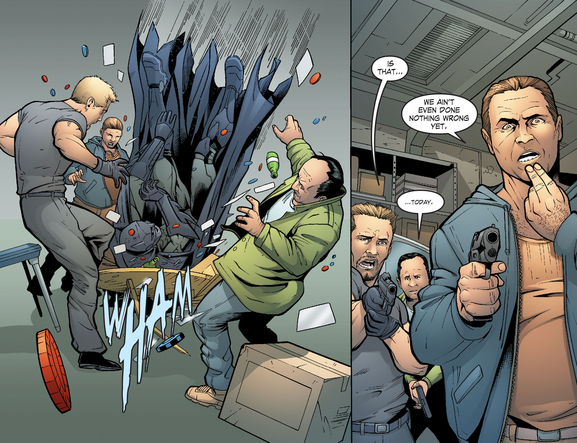 Read online Smallville: Alien comic -  Issue #4 - 6