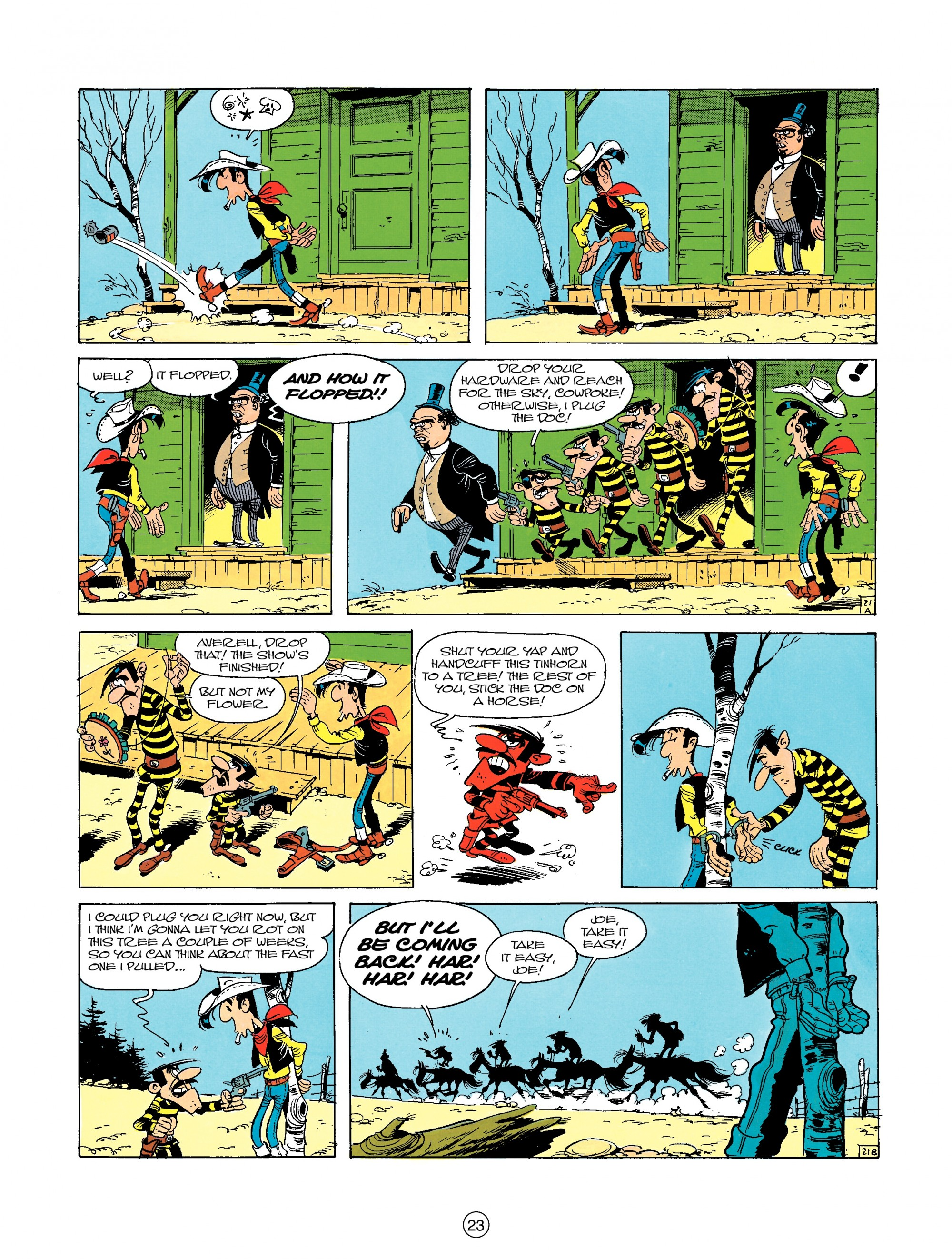 Read online A Lucky Luke Adventure comic -  Issue #23 - 23
