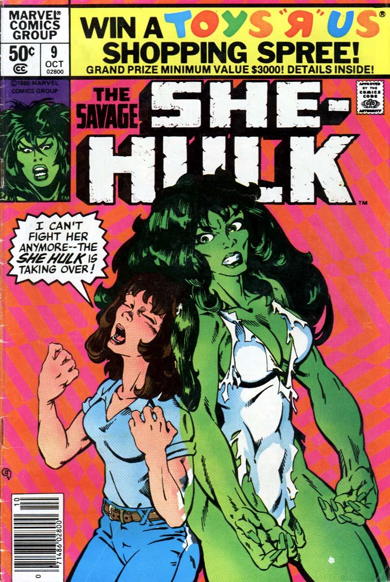The Savage She-Hulk 9 Page 1
