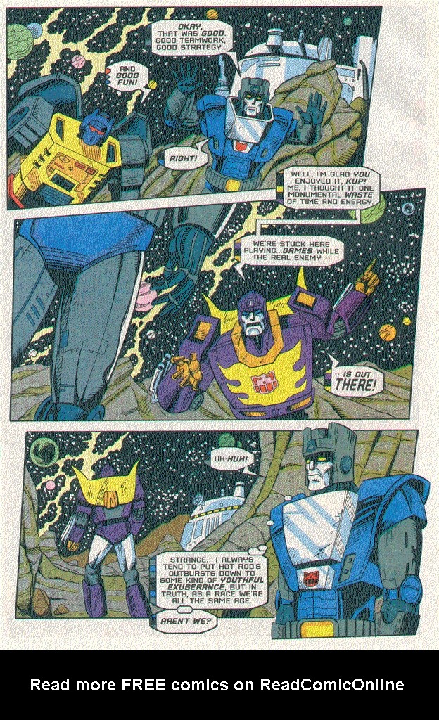 Read online Transformers: Generation 2 comic -  Issue #5 - 13