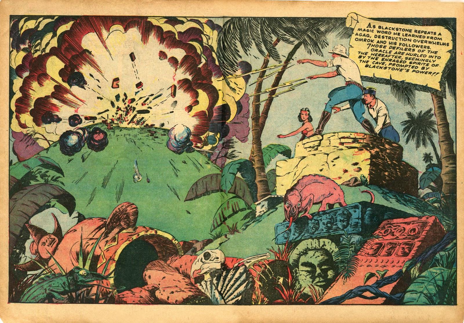 Read online Super-Magician Comics comic -  Issue #5 - 34