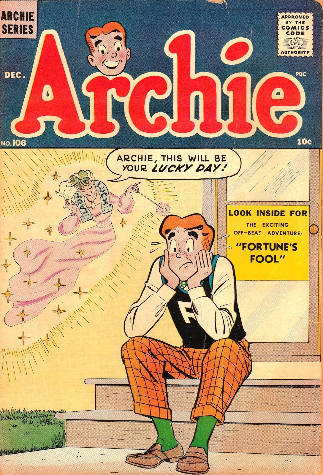 Archie Comics issue 106 - Page 1