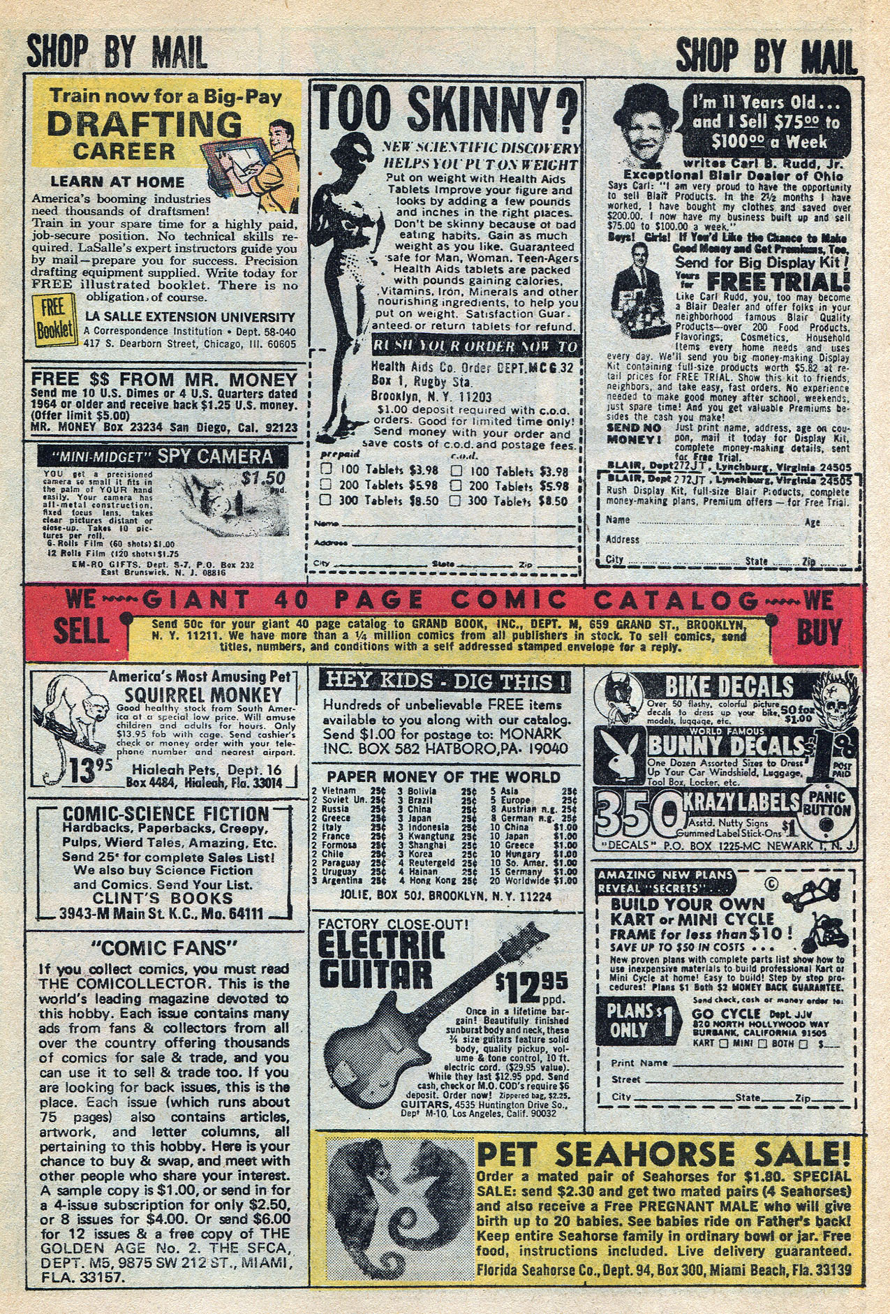Read online Amazing Adventures (1970) comic -  Issue #3 - 27