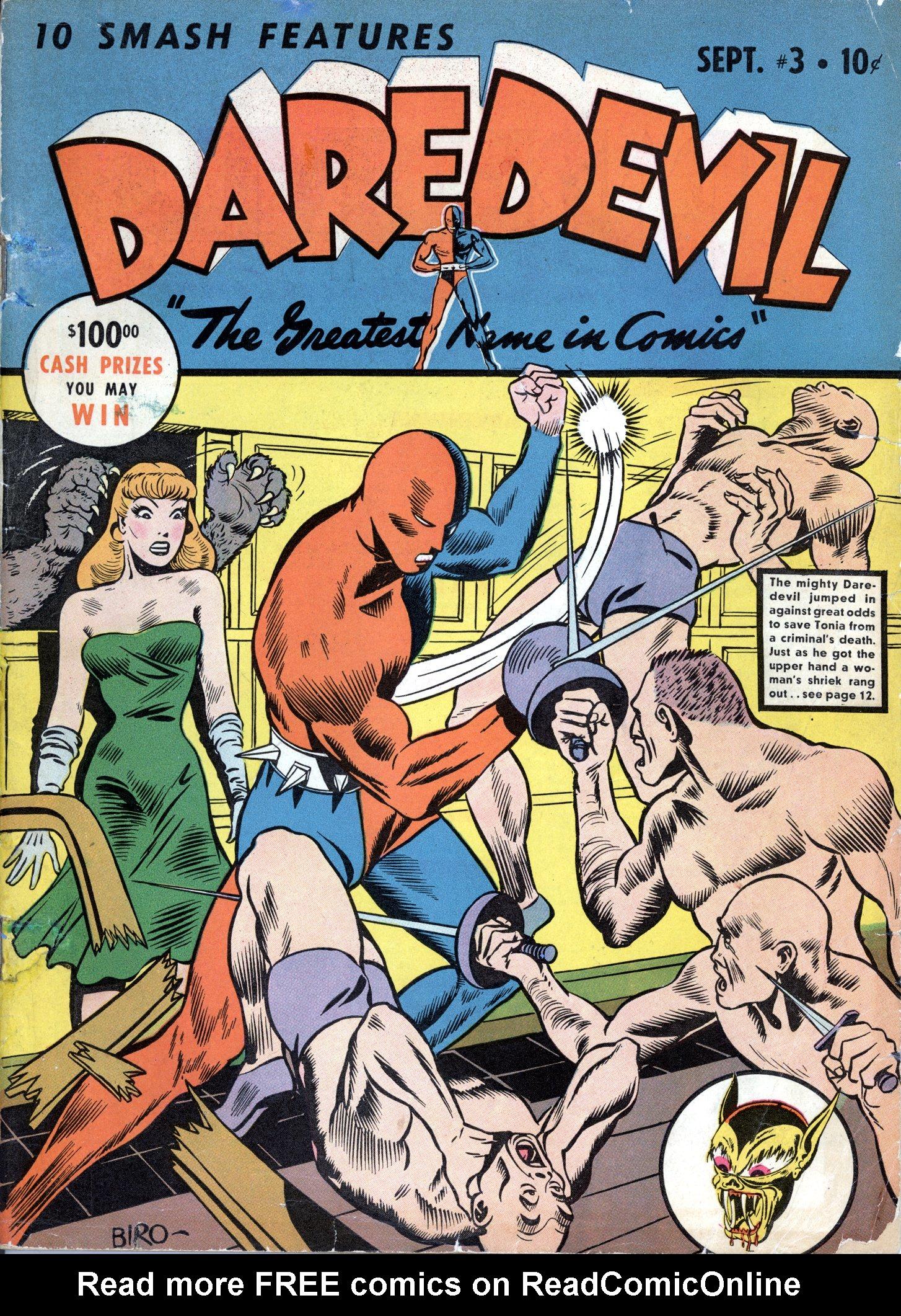 Daredevil (1941) issue 3 - Page 1
