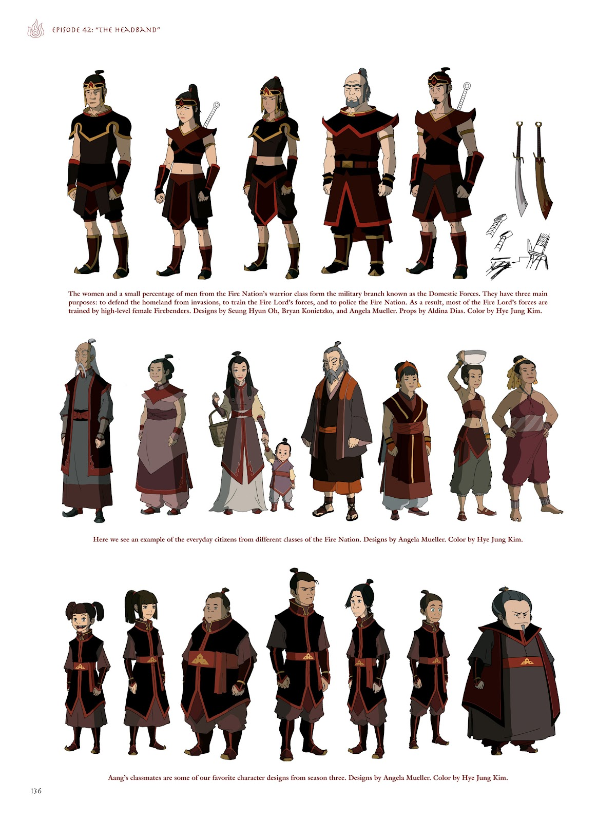 Read online Avatar: The Last Airbender - The Art of the Animated Series comic -  Issue # TPB (Part 2) - 33