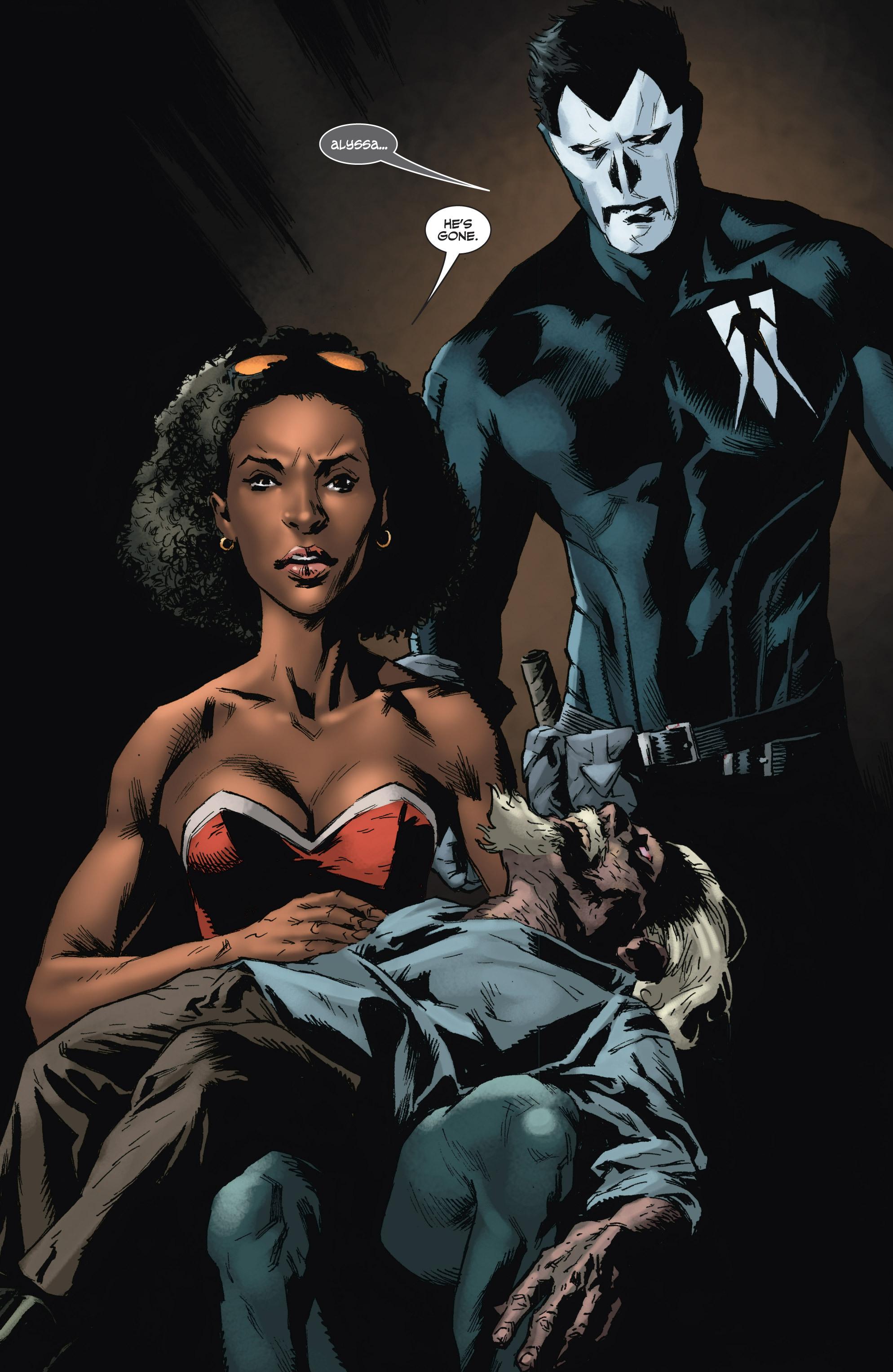 Read online Shadowman (2012) comic -  Issue #9 - 24