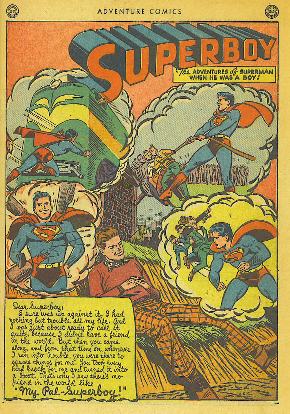 Read online Adventure Comics (1938) comic -  Issue #136 - 3