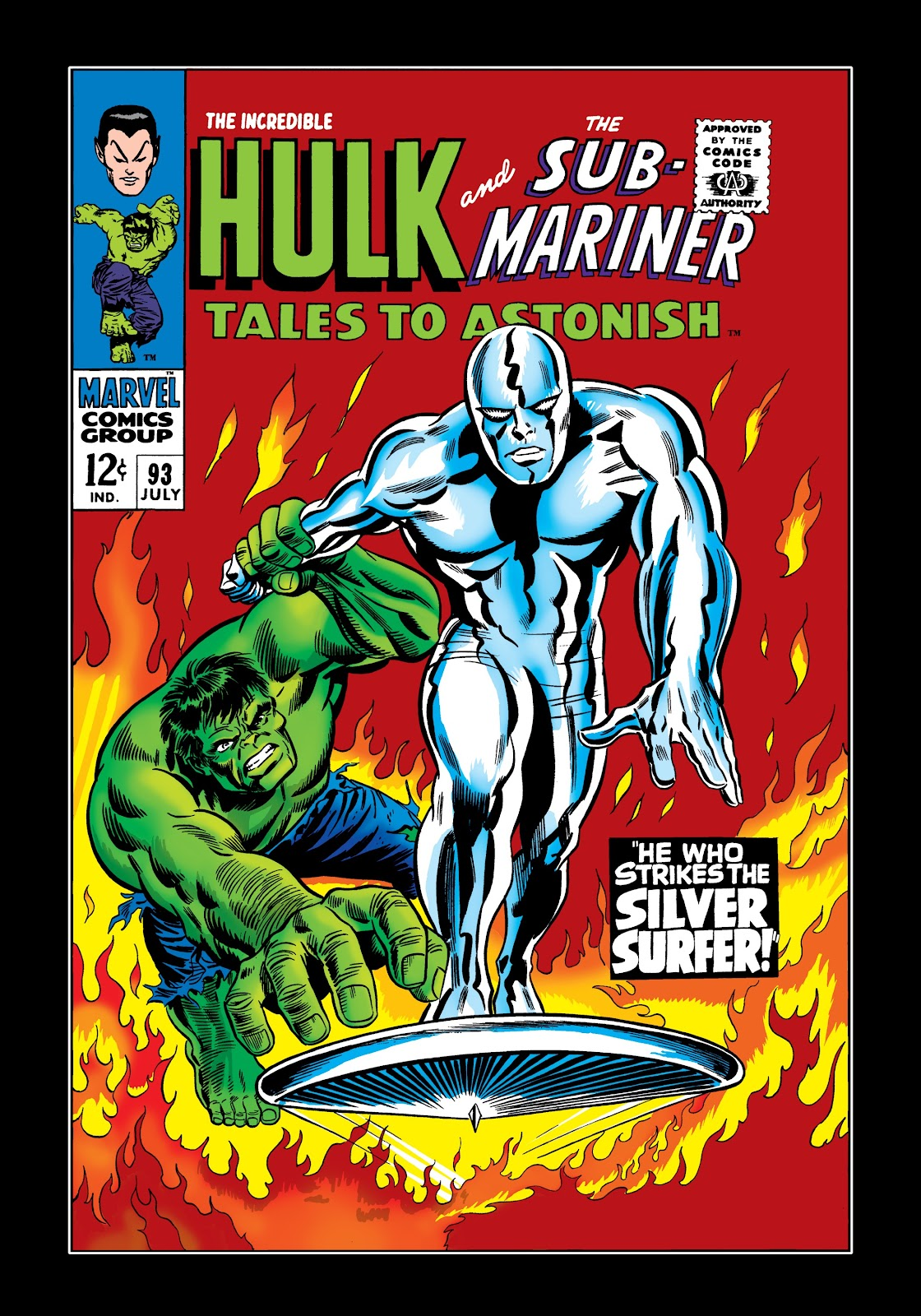 Read online Marvel Masterworks: The Incredible Hulk comic -  Issue # TPB 3 (Part 2) - 50