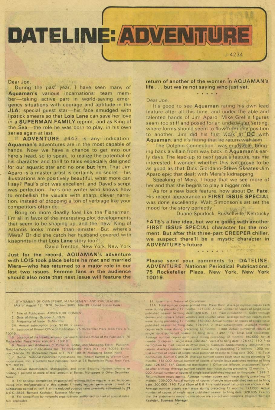 Read online Adventure Comics (1938) comic -  Issue #445 - 22