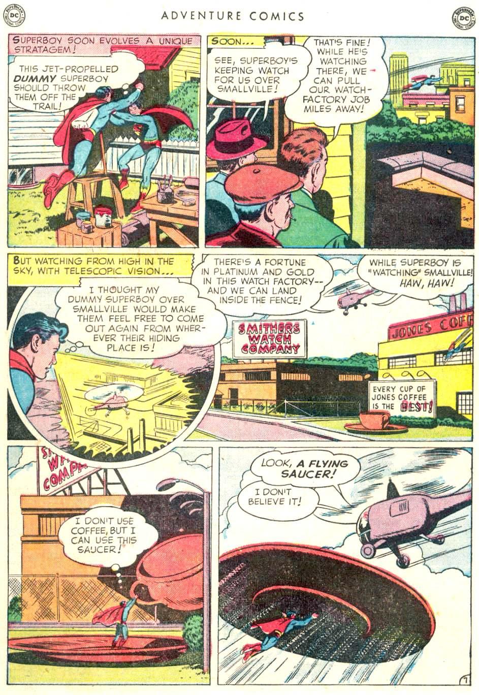 Read online Adventure Comics (1938) comic -  Issue #156 - 9