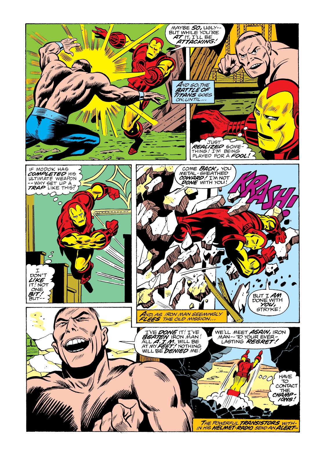 Read online Marvel Masterworks: The Invincible Iron Man comic -  Issue # TPB 11 (Part 3) - 106