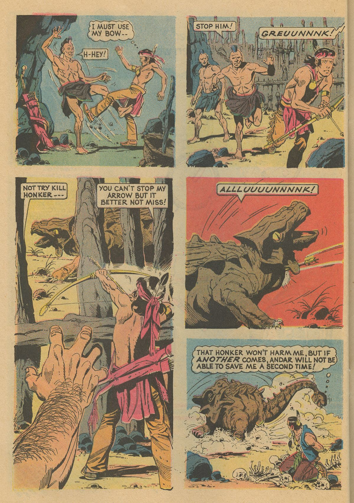 Read online Turok, Son of Stone comic -  Issue #86 - 24