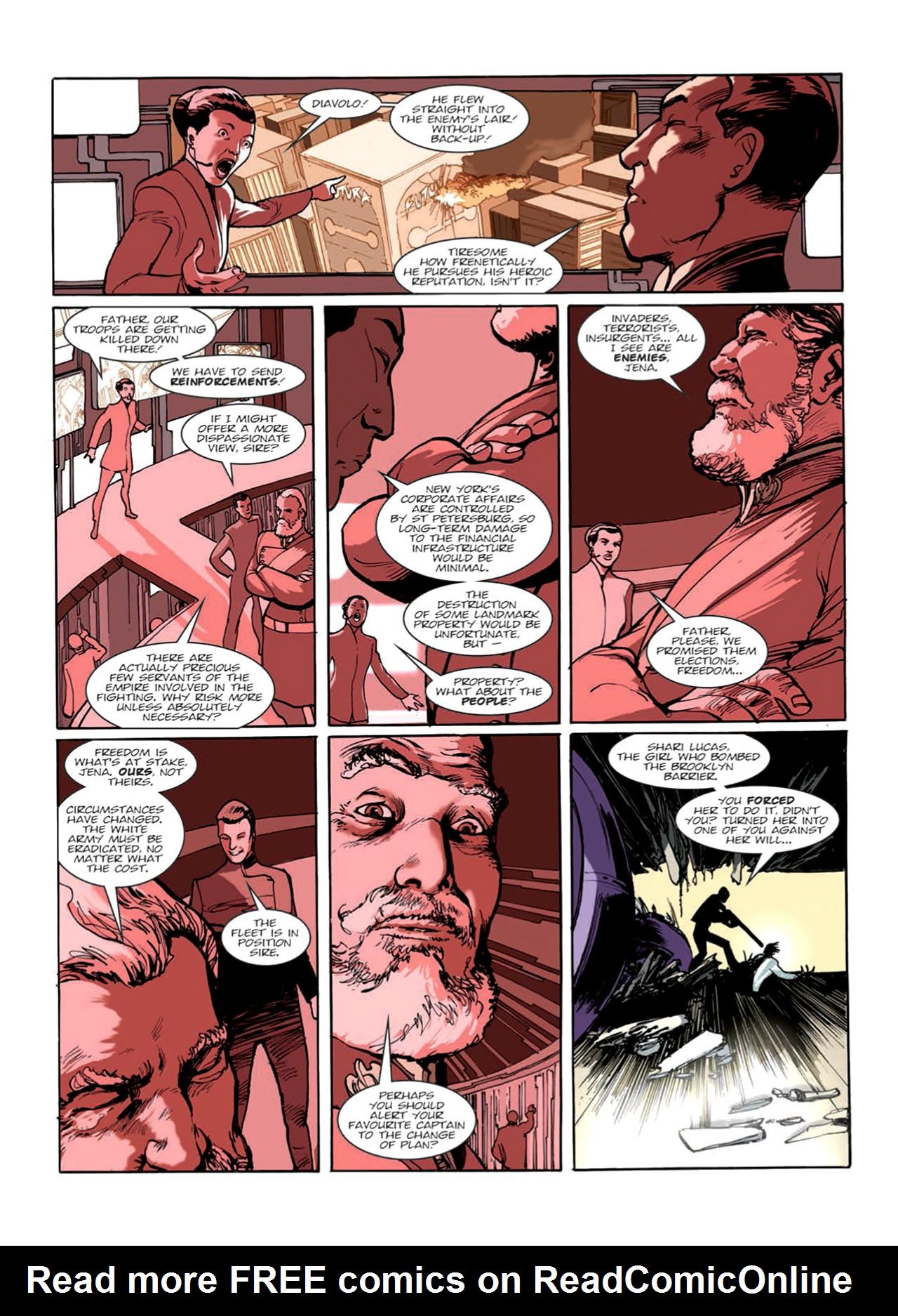 Read online Nikolai Dante comic -  Issue # TPB 9 - 63