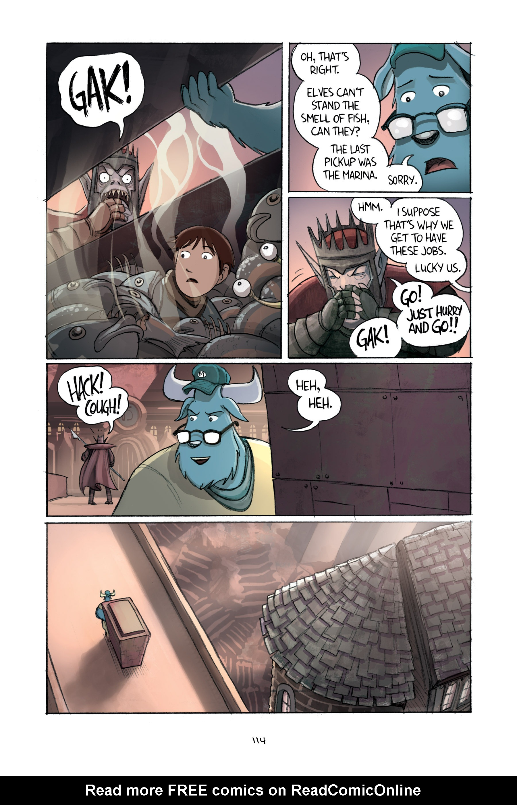 Read online Amulet comic -  Issue #2 - 114