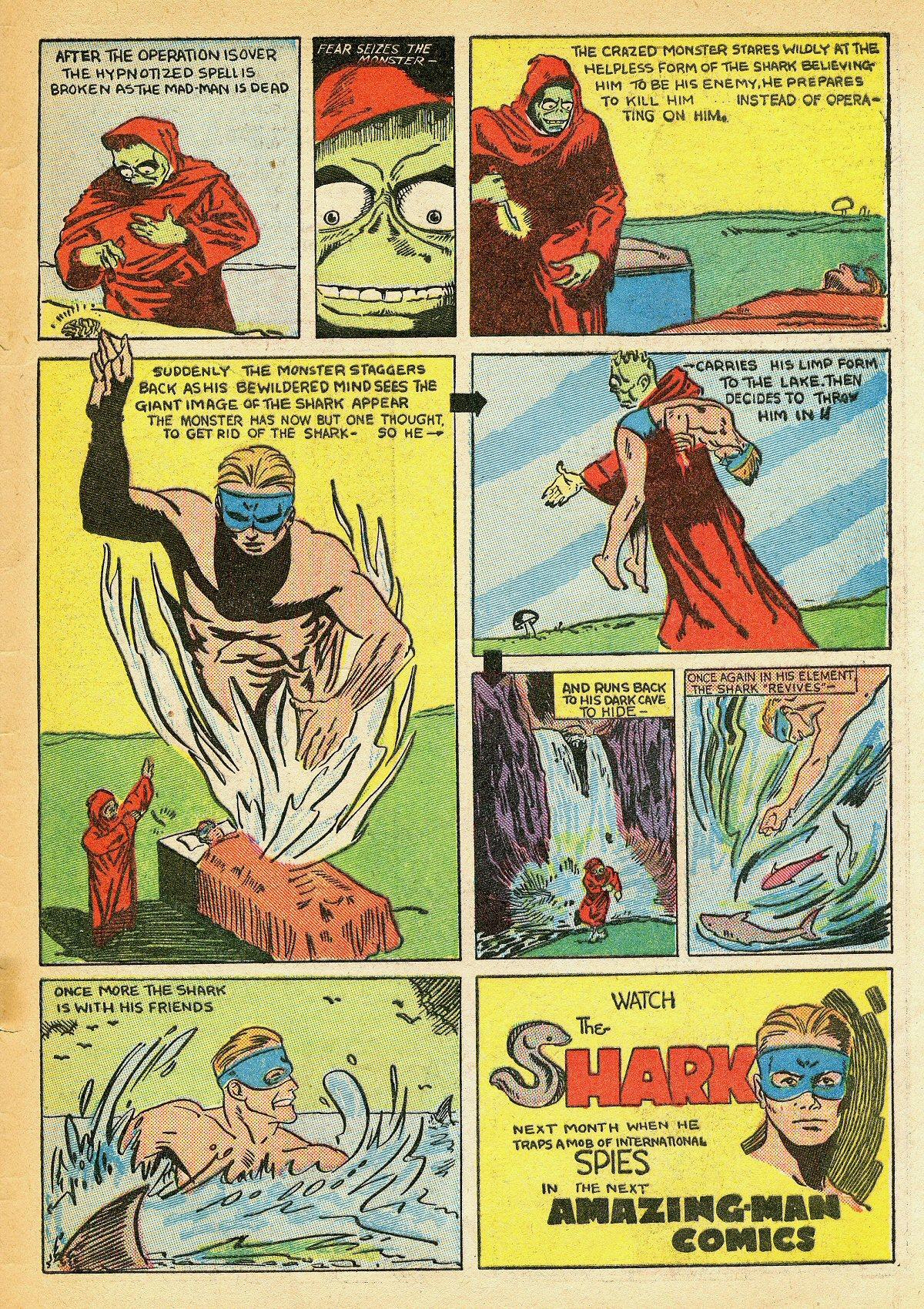 Read online Amazing Man Comics comic -  Issue #10 - 66
