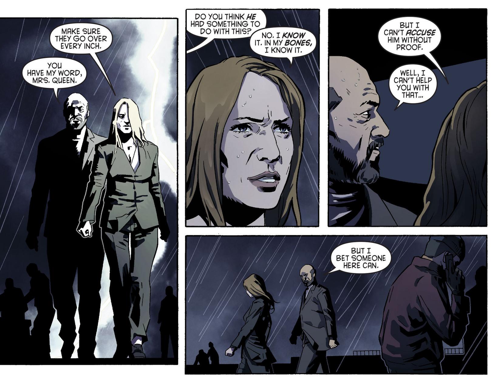 Read online Arrow [II] comic -  Issue #5 - 10