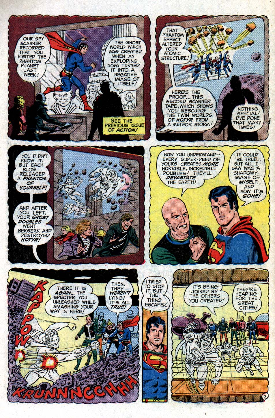 Read online Action Comics (1938) comic -  Issue #418 - 10