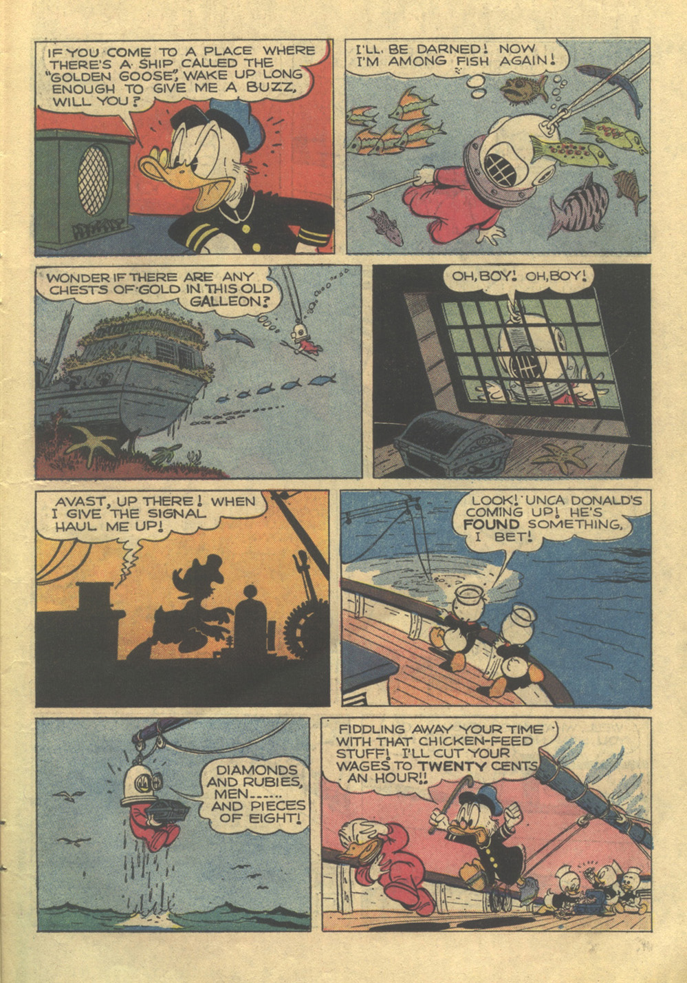 Read online Uncle Scrooge (1953) comic -  Issue #105 - 11
