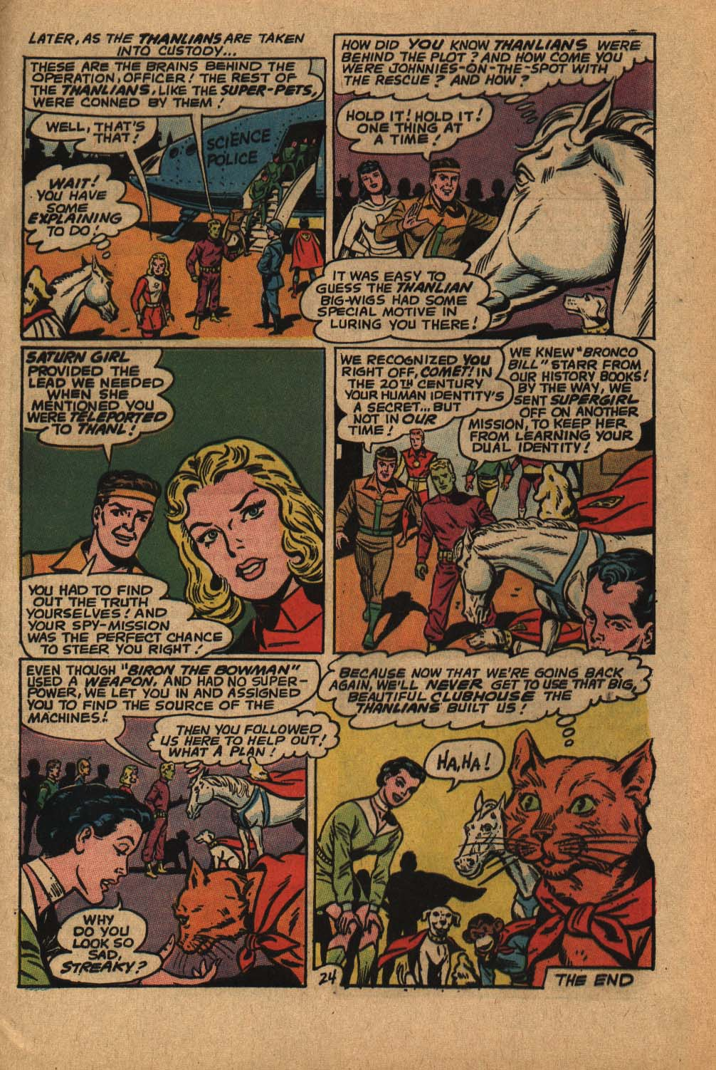 Read online Adventure Comics (1938) comic -  Issue #364 - 33
