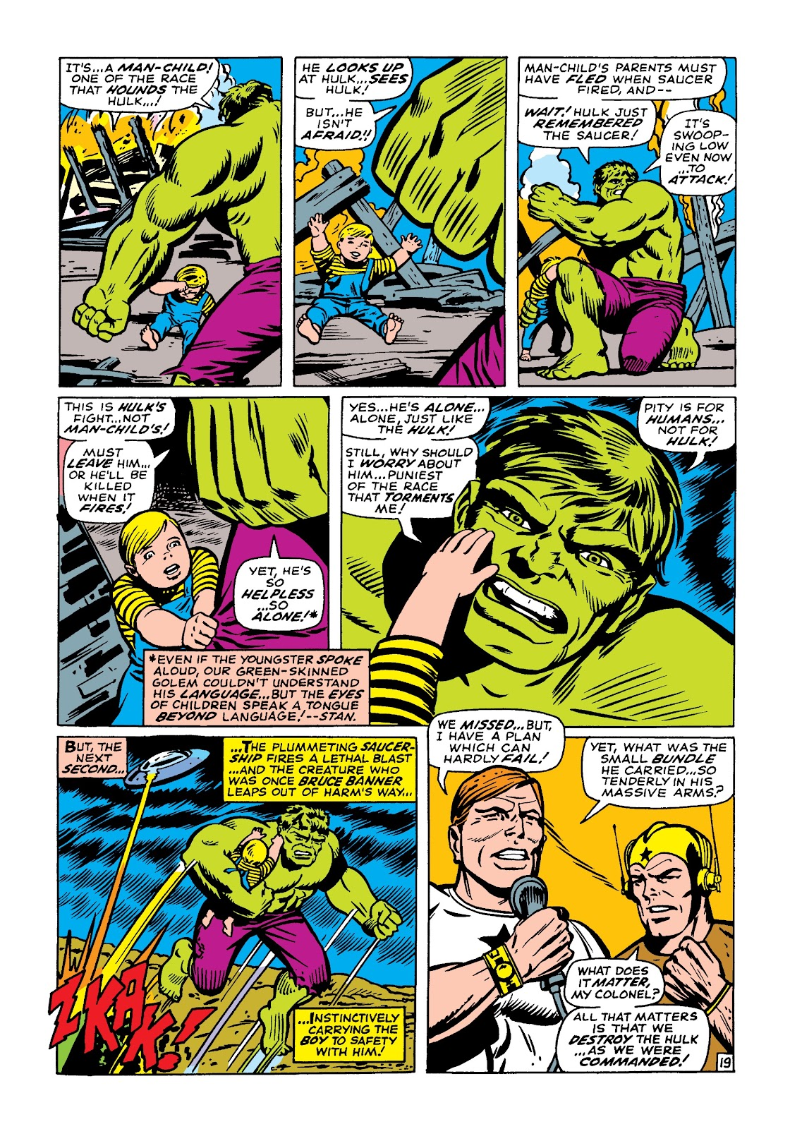 Read online Marvel Masterworks: The Incredible Hulk comic -  Issue # TPB 4 (Part 1) - 89