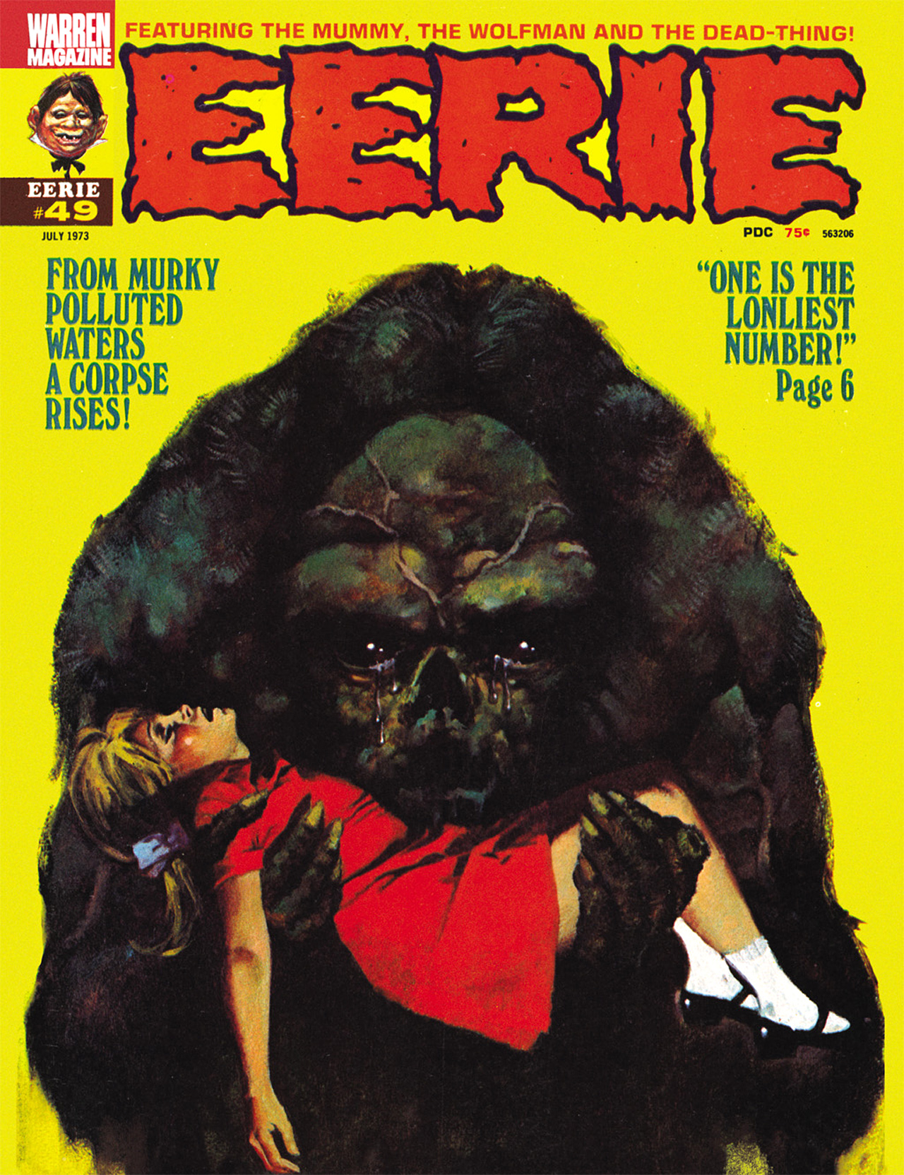 Read online Eerie Archives comic -  Issue # TPB 10 - 134