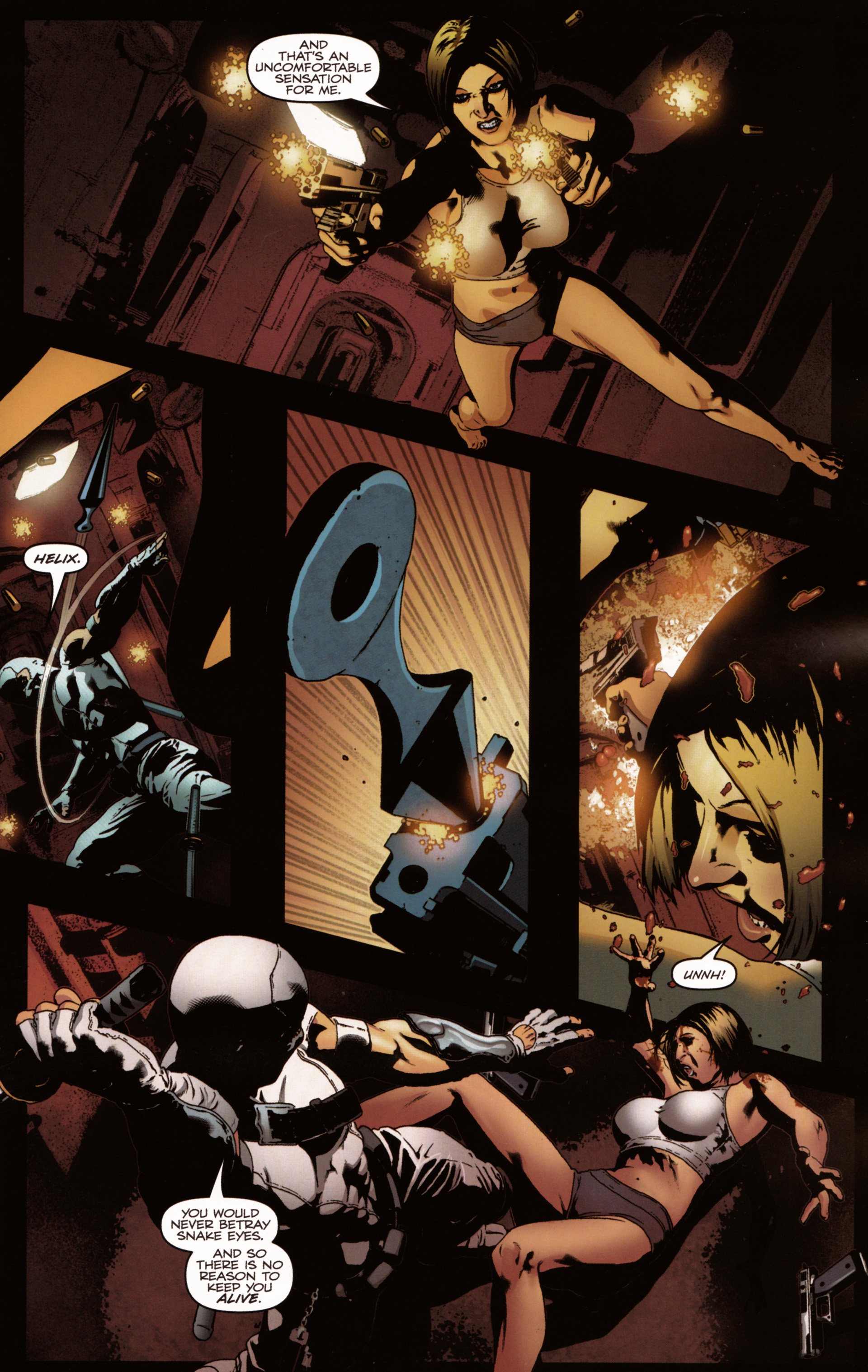 Read online Snake Eyes and Storm Shadow comic -  Issue #20 - 13